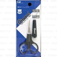 KAI - Groom Eyebrow and Body Hair Scissors Thin Blade With Cover