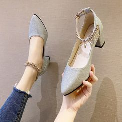 Novice - 粗跟凉鞋