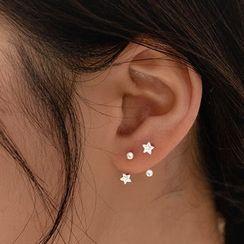 DeerMe(ディアミー) - Star Rhinestone Earring