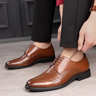 Kayne H - Lace-Up Derby Shoes
