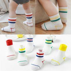 Cloud Femme - Kids Set Of 3: Bear Print Socks