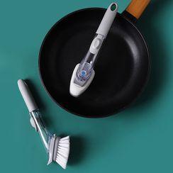 Connie Queenie - Kitchen Cleaning Brush with Soap Dispenser