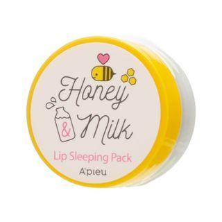 A'PIEU - Honey & Milk Lip Sleeping Pack