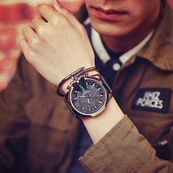 Moska - 仿皮帶式手錶
