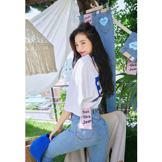 chuu - Summer Super Skinny -5kg Jeans vol.93 for Tall Women