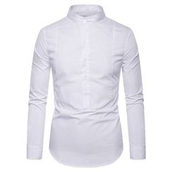 Fireon - Long-Sleeve Plain Shirt