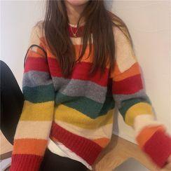 Moon City - Rainbow Block Cardigan / Sweater / Vest