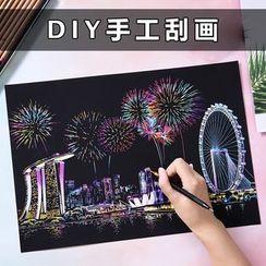Cloud Forest - DIY刮刮艺术纸(多款设计)