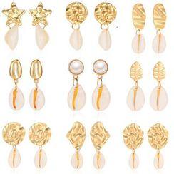 Mulyork - Shell Drop Earring (Various Designs)