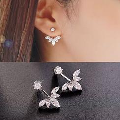 Best Jewellery - Rhinestone Ear Jackets