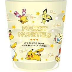 T'S Factory - Pokemon Clear Plastic Cup (Yellow)