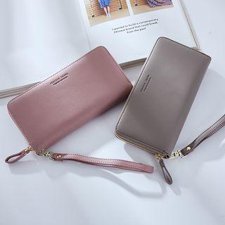 Regalia - Faux Leather Clutch Wallet