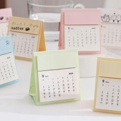 OH.LEELY(オーリーリ) - Mini Desktop Calendar 2021