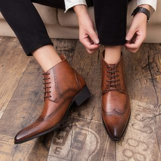 WeWolf - Lace-Up Ankle Oxford Boots