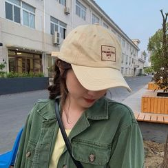 TESS(テス) - Embroidered Lettering Baseball Cap