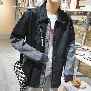 Wescosso - Long-Sleeve Denim Jacket