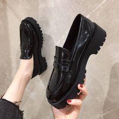 Alisse - 厚底乐福鞋