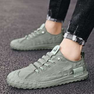 BELLOCK - Plain Lace-Up Sneakers