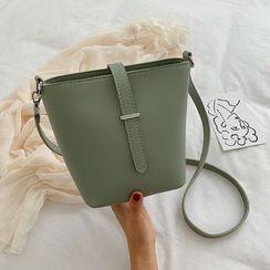 Szeta - Faux Leather Bucket Bag