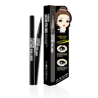 The ORCHID Skin - Lasting Pen Liner #01 Urban Chic Deep Black