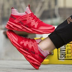 Viffara - Lettering Athletic Sneakers