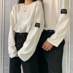 Piwonia - Couple Matching Long-Sleeve T-Shirt