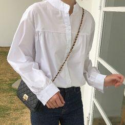 Koolgoon - Long-Sleeve Plain Shirt