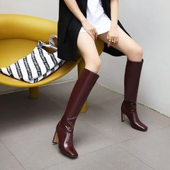 Freesia(フリージア) - High Heel Tall Boots