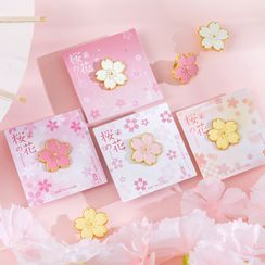 Monez - Sakura Badge (various designs)