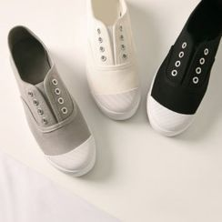 Wifky - Canvas Sneakers without Lace