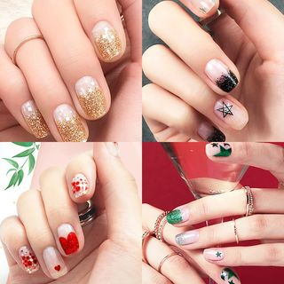 NATURE REPUBLIC - Glitterpia Gel Nail Strip (6 Types)