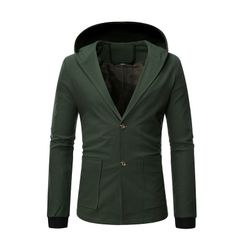 Andrei - Hooded Button Jacket