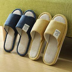 Maltjoy Home - Linen Cotton Home Slippers