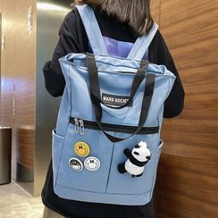 EAVALURE(イーヴァルア) - Nylon Zip Backpack
