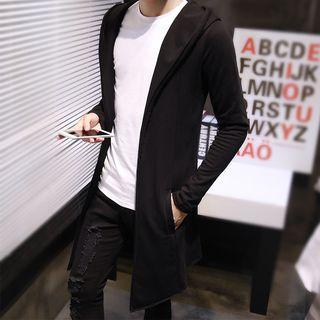 Sheck - Hooded Long Cardigan