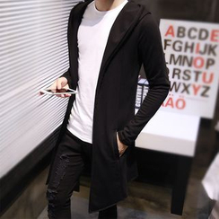 Sheck(シェック) - Hooded Long Cardigan