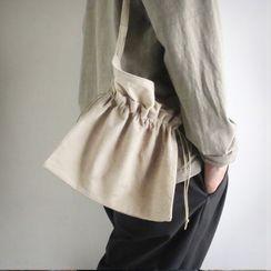 Maden - Drawstring Canvas Crossbody Bag