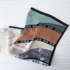 Soiea - Printed Silk Scarf