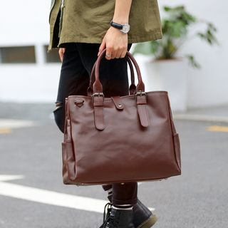 BagBuzz(バッグバズ) - Faux Leather Tote Bag