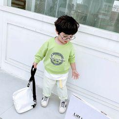 Pinty - 小童仿兩件字母套衫