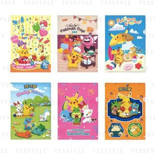 SunToys - Pokemon A4 Plastic Folder - 6 Types