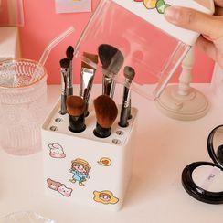 Baburu - 塑膠化妝刷筆筒
