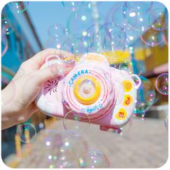 Momoi - Camera-Shaped Bubble Blowing Toy (Battery Not Included)