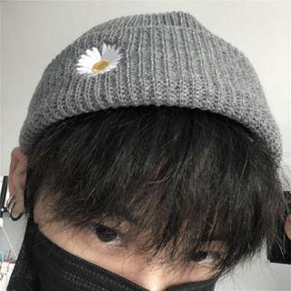 LINSI - 碎花刺绣无边帽
