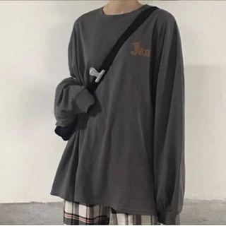 Chililala - 印字套衫 / 格纹宽腿裤