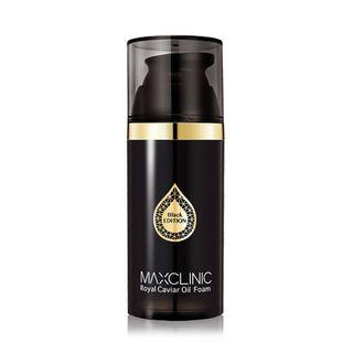 MAXCLINIC - Royal Caviar Oil Foam Black Edition 110g