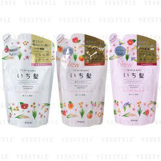 Kracie - Ichikami Shampoo Refill 340ml - 3 Types