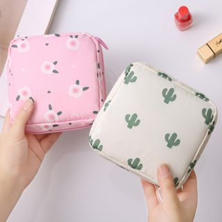 Happy Fish - Printed Sanitary Pouch