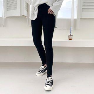 DANI LOVE - Fleece-Lined Skinny Pants