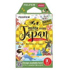 Fujifilm - Fujifilm Instax Mini Film (Japan Design) (10 Sheets per Pack)